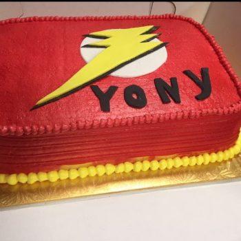 Cake con Airbrush y Fondant