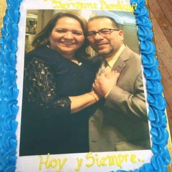 Cake con foto / 1 libra