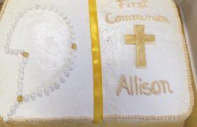 Cake comunión / 1 libra