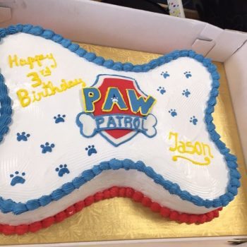 Cake decorado en Fondant